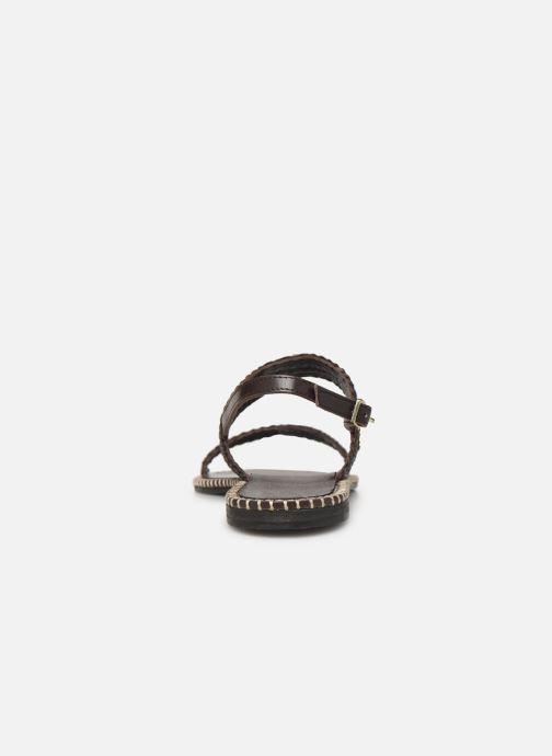 Sandali e scarpe aperte Les Tropéziennes par M Belarbi ORIANO Marrone immagine destra