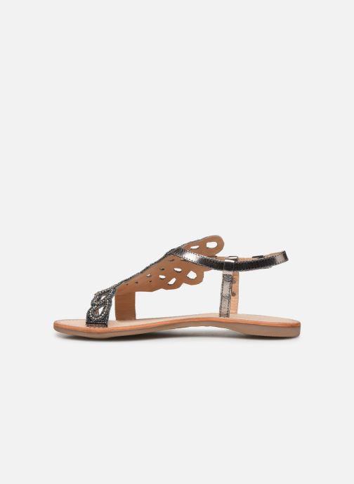 Sandales et nu-pieds Les Tropéziennes par M Belarbi OGGY Argent vue face