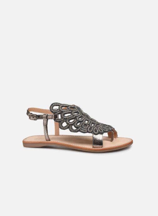 Sandales et nu-pieds Les Tropéziennes par M Belarbi OGGY Argent vue derrière