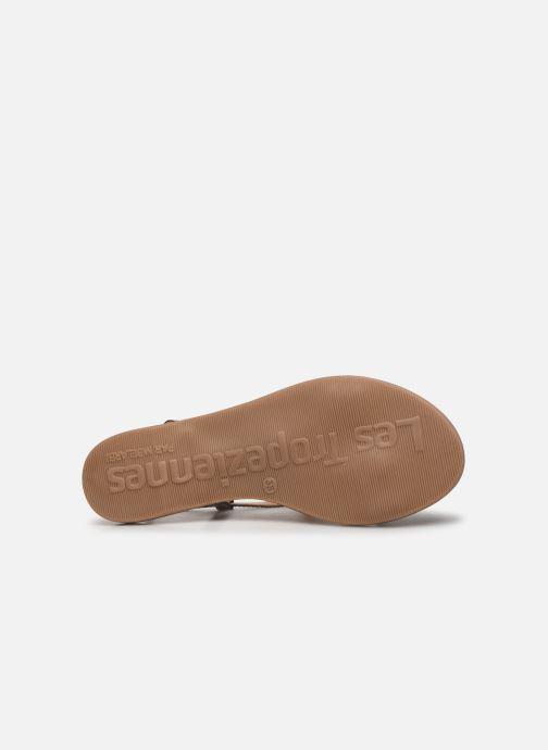 Sandales et nu-pieds Les Tropéziennes par M Belarbi OGGY Argent vue haut