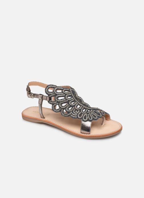 Sandales et nu-pieds Les Tropéziennes par M Belarbi OGGY Argent vue détail/paire