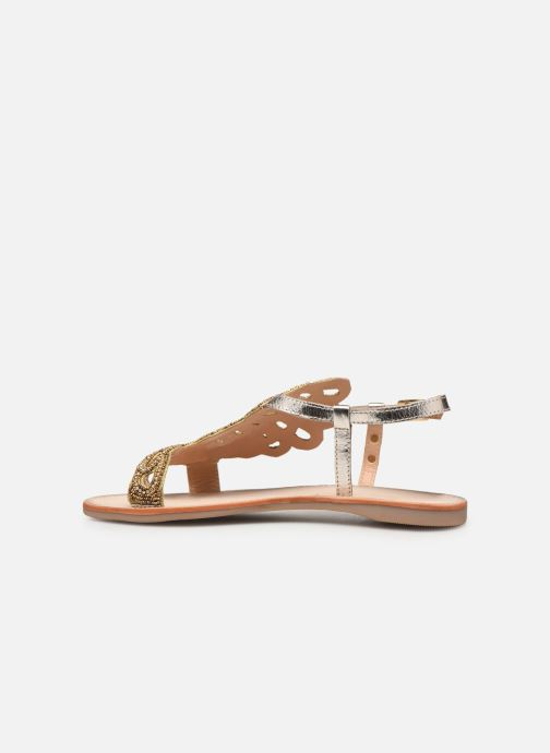 Sandales et nu-pieds Les Tropéziennes par M Belarbi OGGY Or et bronze vue face