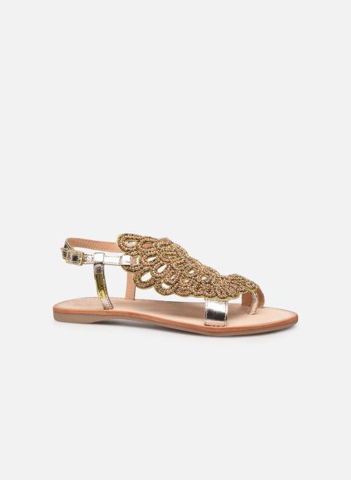 Sandales et nu-pieds Les Tropéziennes par M Belarbi OGGY Or et bronze vue derrière