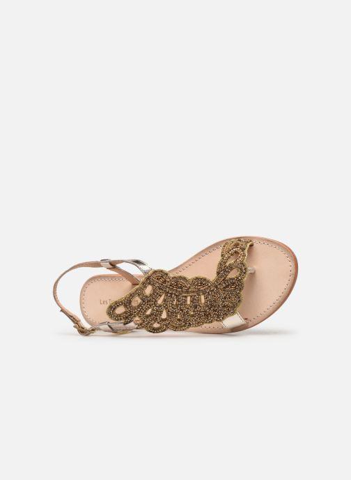 Sandales et nu-pieds Les Tropéziennes par M Belarbi OGGY Or et bronze vue gauche
