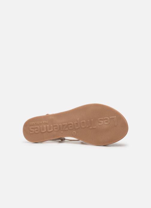 Sandales et nu-pieds Les Tropéziennes par M Belarbi OGGY Or et bronze vue haut