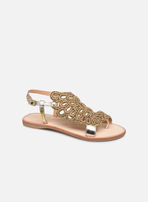 Sandales et nu-pieds Les Tropéziennes par M Belarbi OGGY Or et bronze vue détail/paire