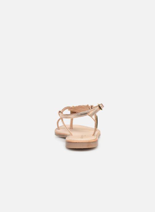 Sandalen Les Tropéziennes par M Belarbi OKTAVI Goud en brons rechts