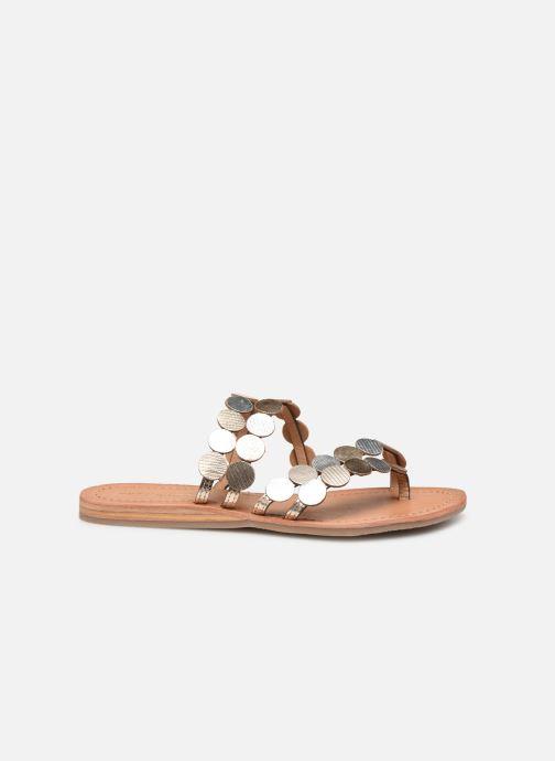 Mules et sabots Les Tropéziennes par M Belarbi HOROND Or et bronze vue derrière