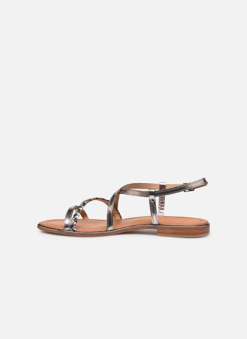 Sandals Les Tropéziennes par M Belarbi HALEY Silver front view