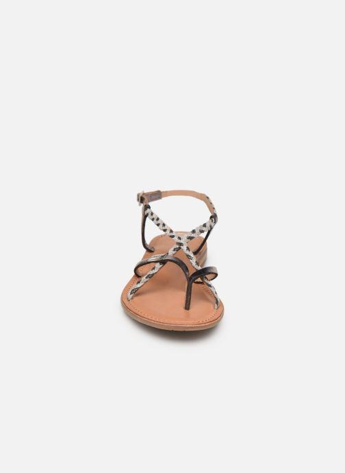 Sandales et nu-pieds Les Tropéziennes par M Belarbi MONATRES Argent vue portées chaussures