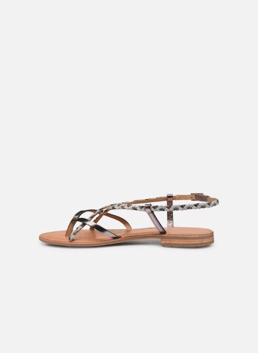 Sandales et nu-pieds Les Tropéziennes par M Belarbi MONATRES Argent vue face