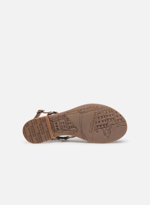Sandales et nu-pieds Les Tropéziennes par M Belarbi MONATRES Argent vue haut