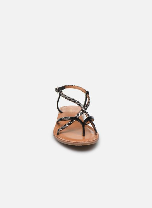Sandales et nu-pieds Les Tropéziennes par M Belarbi MONATRES Noir vue portées chaussures
