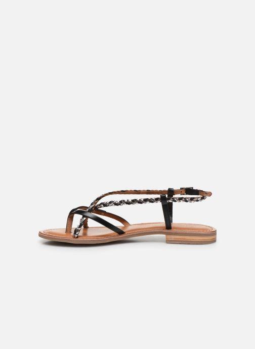 Sandales et nu-pieds Les Tropéziennes par M Belarbi MONATRES Noir vue face