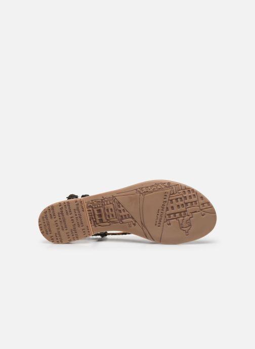 Sandales et nu-pieds Les Tropéziennes par M Belarbi MONATRES Noir vue haut
