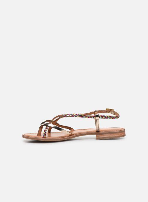 Sandales et nu-pieds Les Tropéziennes par M Belarbi MONATRES Or et bronze vue face