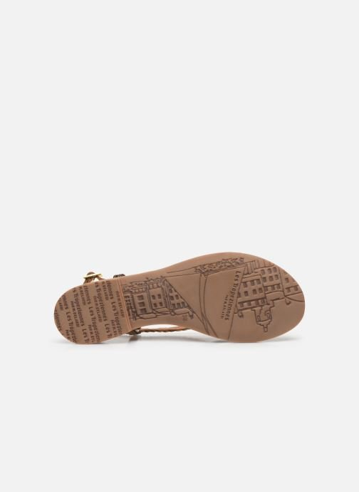 Sandali e scarpe aperte Les Tropéziennes par M Belarbi MONATRES Oro e bronzo immagine dall'alto