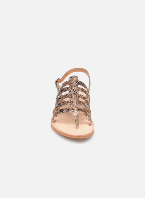Sandales et nu-pieds Les Tropéziennes par M Belarbi OLOF Beige vue portées chaussures