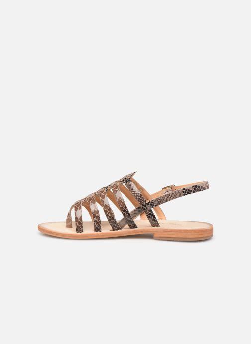 Sandales et nu-pieds Les Tropéziennes par M Belarbi OLOF Beige vue face