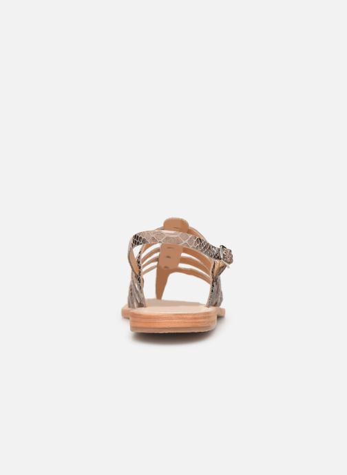 Sandales et nu-pieds Les Tropéziennes par M Belarbi OLOF Beige vue droite