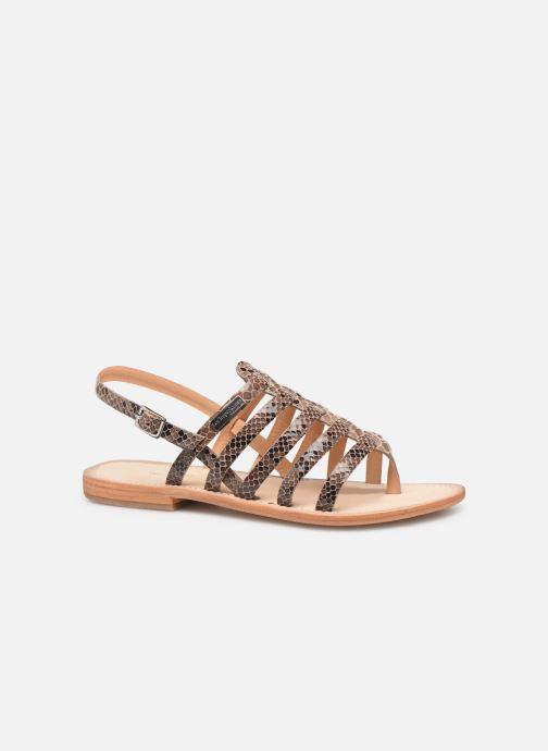 Sandales et nu-pieds Les Tropéziennes par M Belarbi OLOF Beige vue derrière
