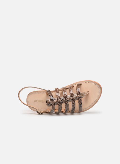 Sandales et nu-pieds Les Tropéziennes par M Belarbi OLOF Beige vue gauche