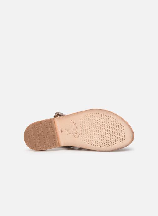 Sandales et nu-pieds Les Tropéziennes par M Belarbi OLOF Beige vue haut