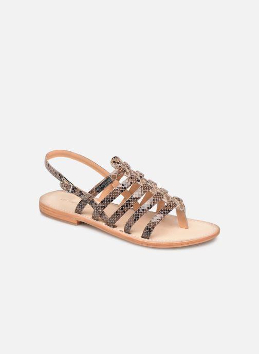 Sandales et nu-pieds Les Tropéziennes par M Belarbi OLOF Beige vue détail/paire
