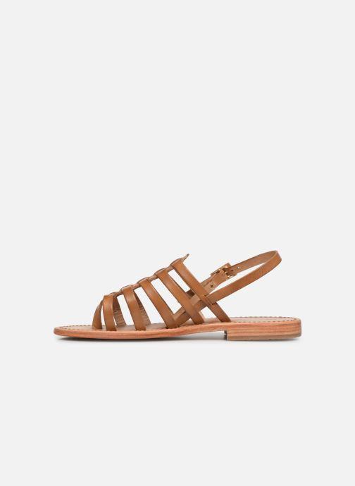 Sandali e scarpe aperte Les Tropéziennes par M Belarbi HERIBERI Marrone immagine frontale