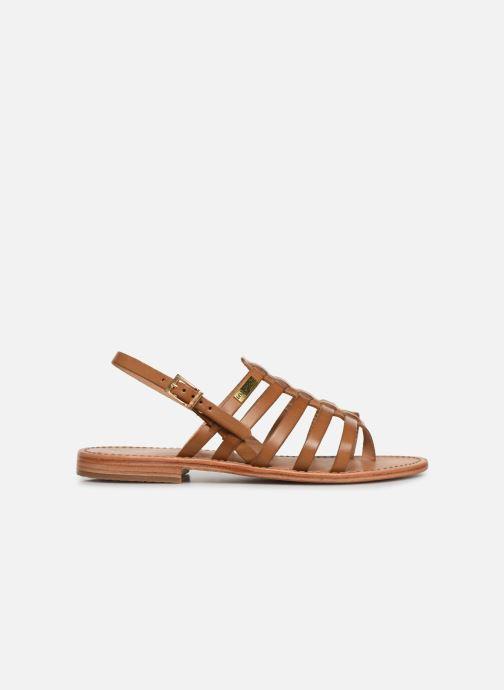 Sandales et nu-pieds Les Tropéziennes par M Belarbi HERIBERI Marron vue derrière