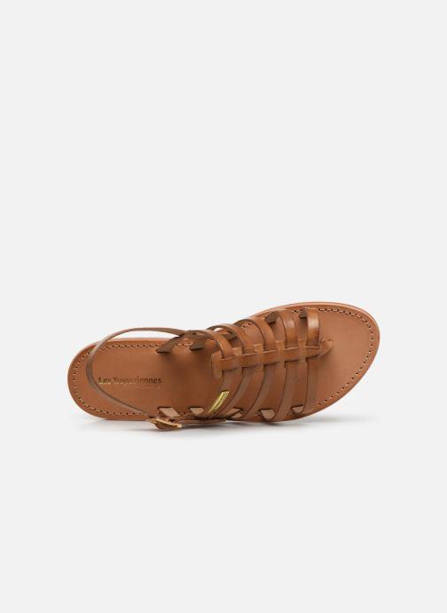 Sandales et nu-pieds Les Tropéziennes par M Belarbi HERIBERI Marron vue gauche