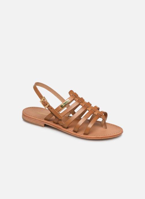 Sandales et nu-pieds Les Tropéziennes par M Belarbi HERIBERI Marron vue détail/paire