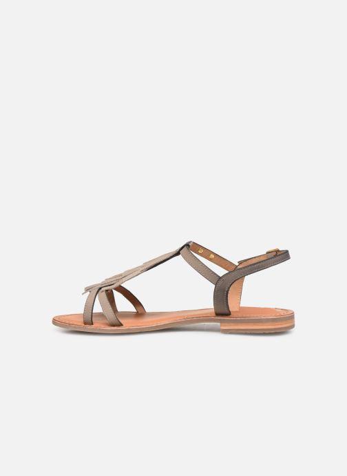 Sandales et nu-pieds Les Tropéziennes par M Belarbi BELIE Gris vue face