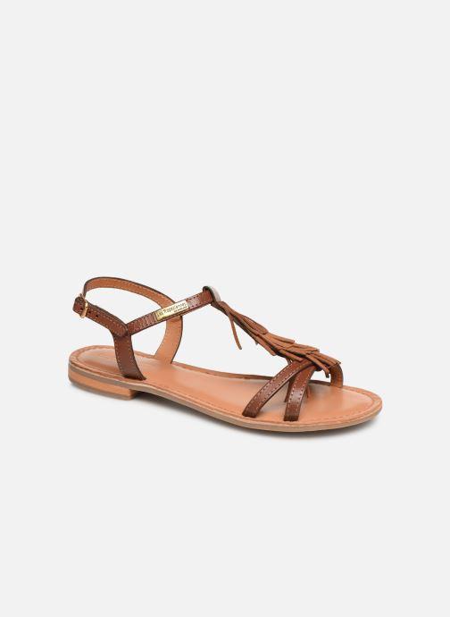 Sandales et nu-pieds Les Tropéziennes par M Belarbi BELIE Marron vue détail/paire