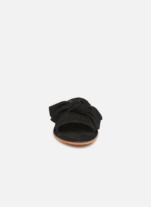 Mules et sabots Les Tropéziennes par M Belarbi DIXON Noir vue portées chaussures