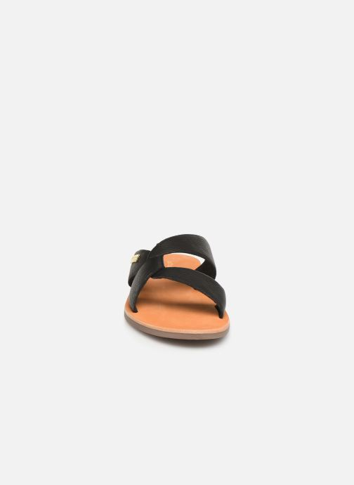 Mules et sabots Les Tropéziennes par M Belarbi PLACIDE Noir vue portées chaussures