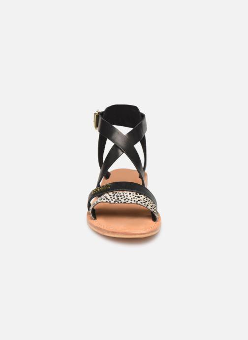 Sandales et nu-pieds Les Tropéziennes par M Belarbi PIPA Noir vue portées chaussures