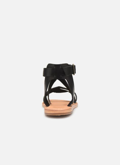 Sandales et nu-pieds Les Tropéziennes par M Belarbi PIPA Noir vue droite