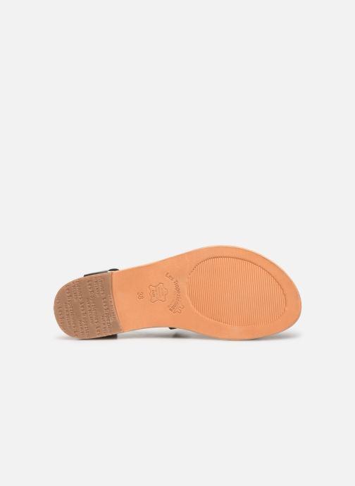 Sandales et nu-pieds Les Tropéziennes par M Belarbi PIPA Noir vue haut