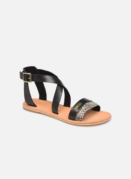 Sandales et nu-pieds Les Tropéziennes par M Belarbi PIPA Noir vue détail/paire