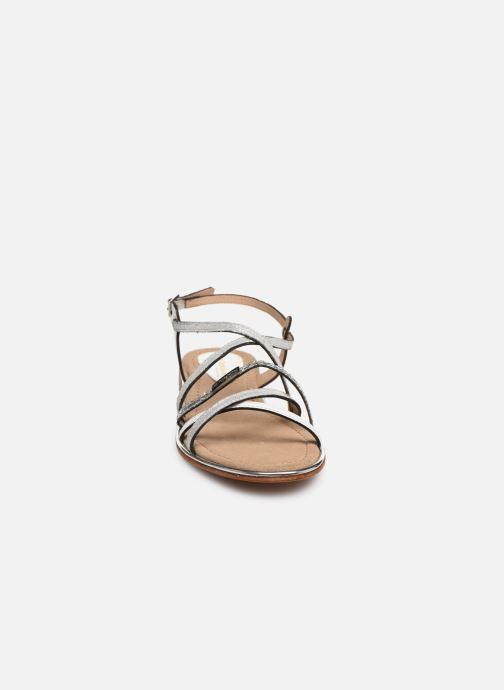 Sandales et nu-pieds Les Tropéziennes par M Belarbi HARICOT Blanc vue portées chaussures
