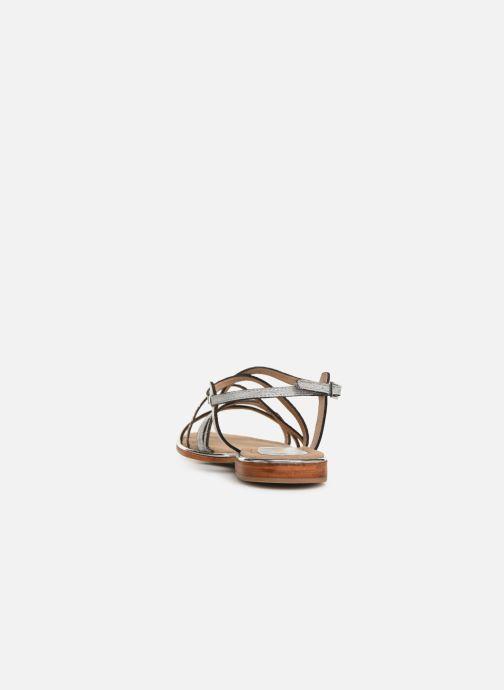 Sandales et nu-pieds Les Tropéziennes par M Belarbi HARICOT Blanc vue droite