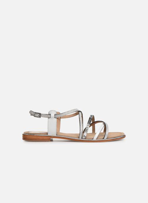 Sandales et nu-pieds Les Tropéziennes par M Belarbi HARICOT Blanc vue derrière