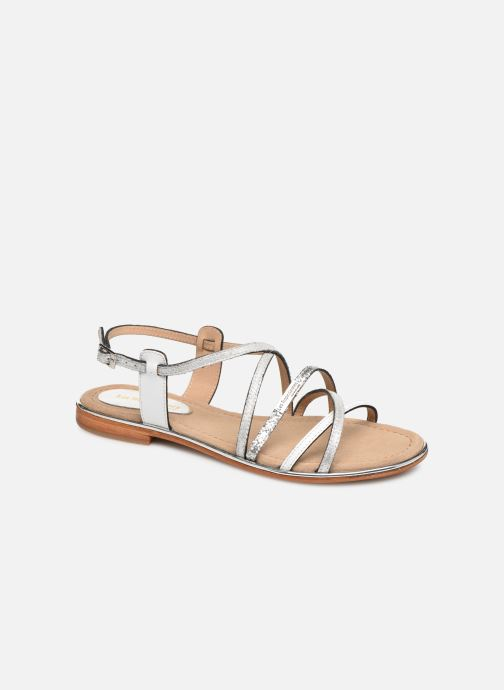 Sandales et nu-pieds Les Tropéziennes par M Belarbi HARICOT Blanc vue détail/paire