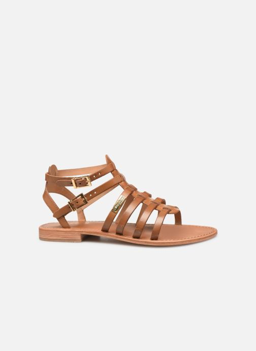 Sandales et nu-pieds Les Tropéziennes par M Belarbi HIRECA Marron vue derrière