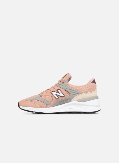 Baskets New Balance WX-90 Rose vue face