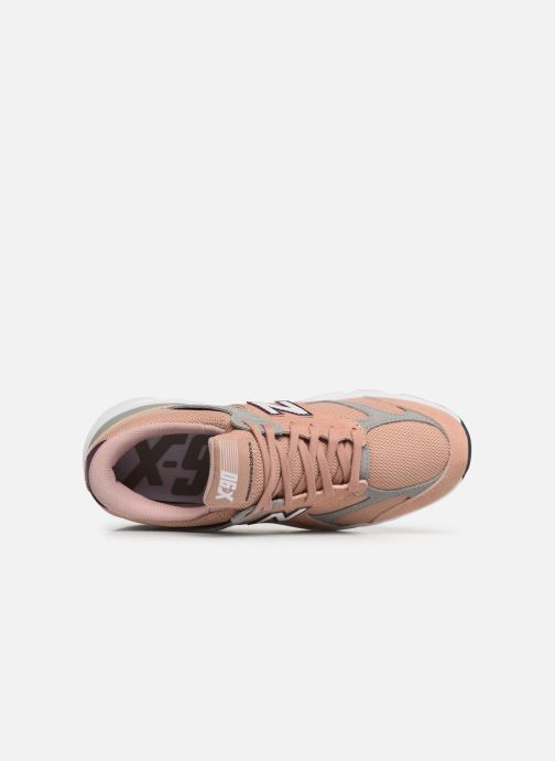 Baskets New Balance WX-90 Rose vue gauche