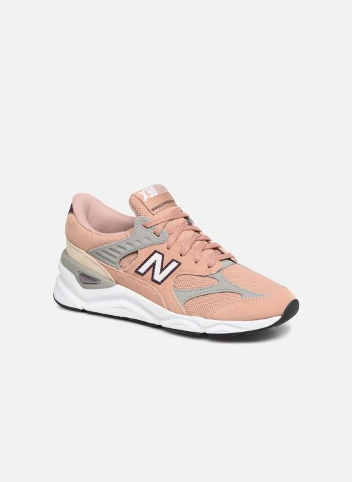 Baskets New Balance WX-90 Rose vue détail/paire