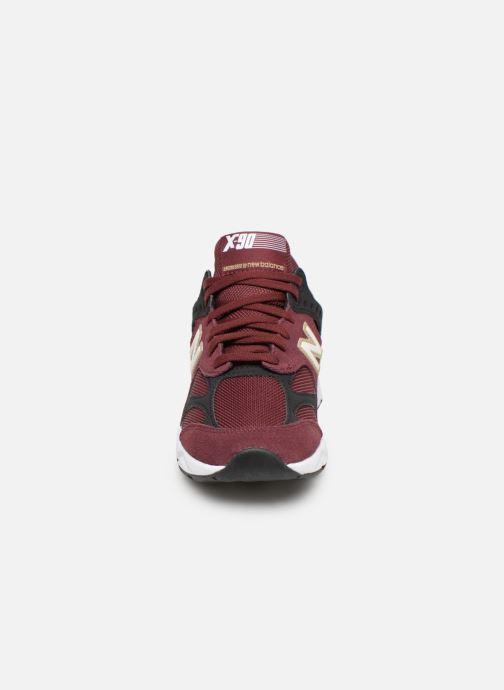 Baskets New Balance WX-90 Bordeaux vue portées chaussures