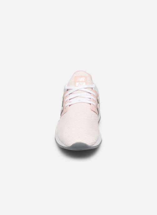 Sneaker New Balance WX-90 rosa schuhe getragen